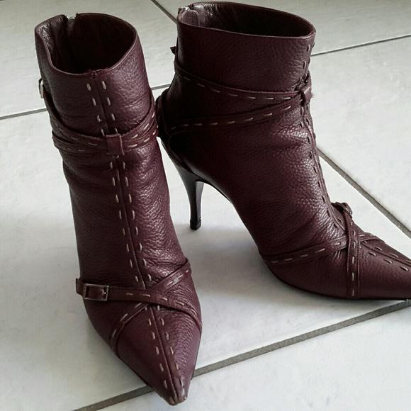 Fendi Shoes - Fendi Ankle Boots SOLD!